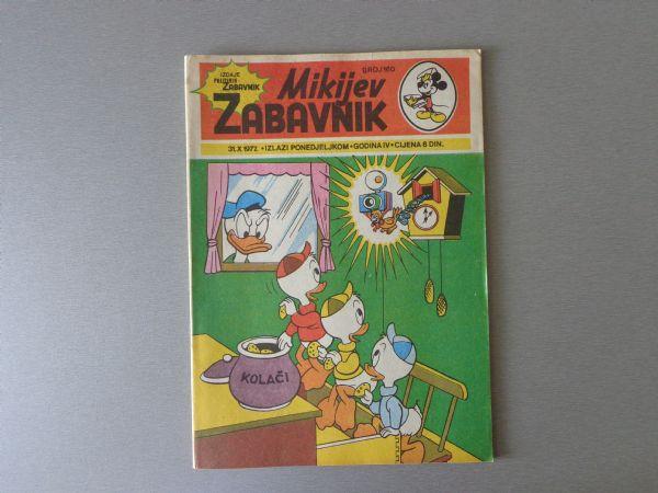 MIKIJEV ZABAVNIK Br 160 1977 GOD.  ( - 5 / 5 )
