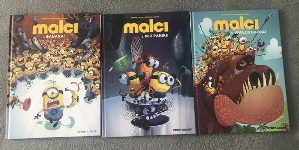Strip agent • MALCI 1, 2 i 3