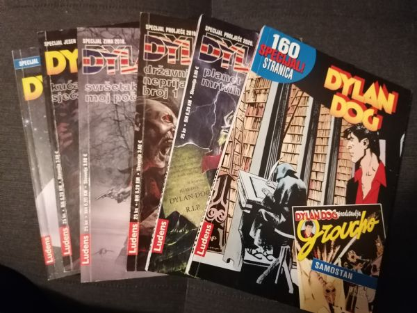 Dylan Dog specijali, 6 komada