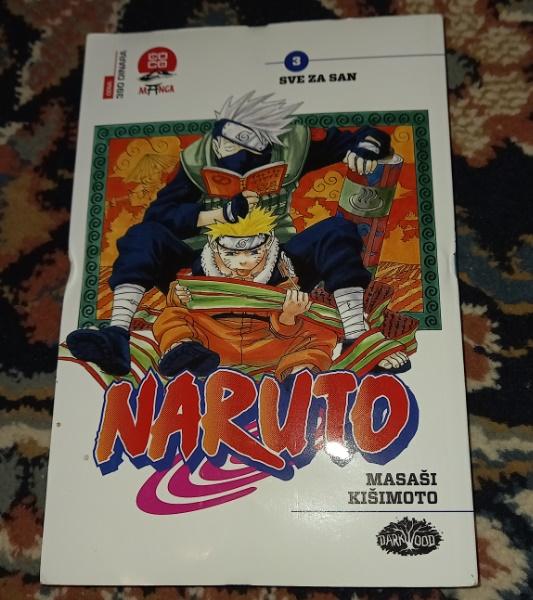 Naruto br.3 Sve za san Darkwood