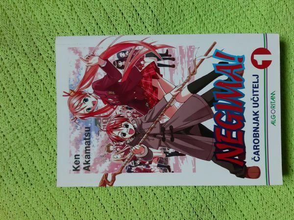 Manga Negimai br. 1 Čarobnjak učitelj