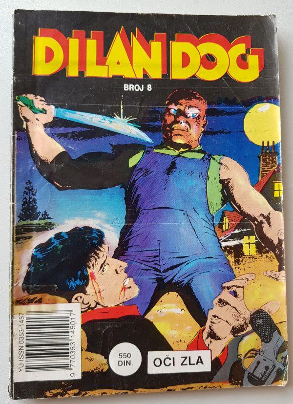 Dilan Dog 8 - Oči zla (Dnevnik)