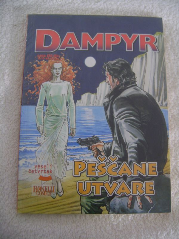 DAMPYR 3 - PEŠČANE UTVARE - VESELI ČETVRTAK