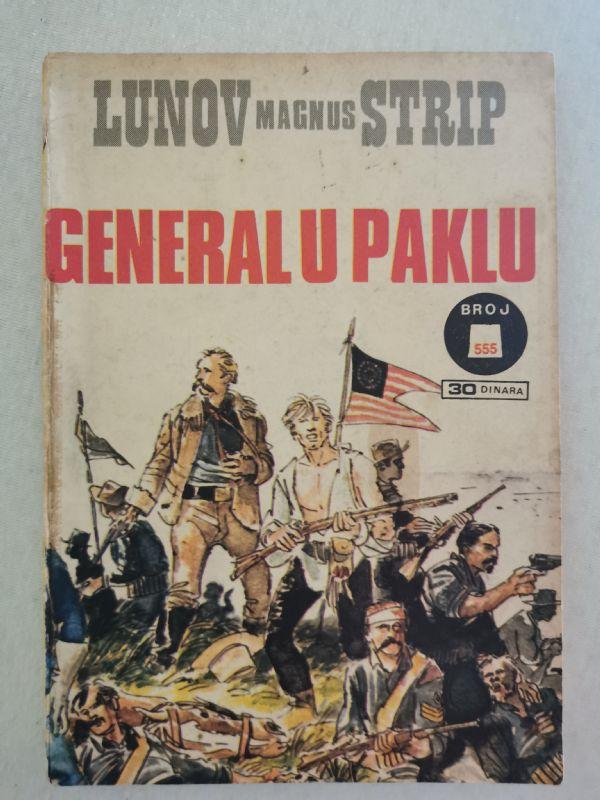 KEN PARKER 555. Generali u paklu