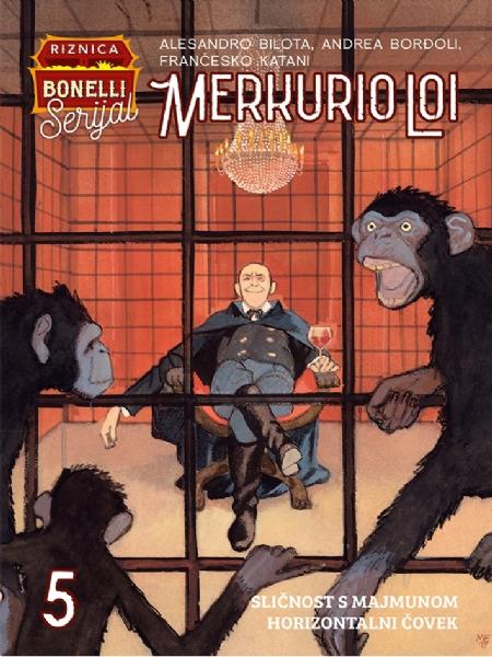 Sličnost s majmunom - Horizontalni čovek MERLO CARK 5