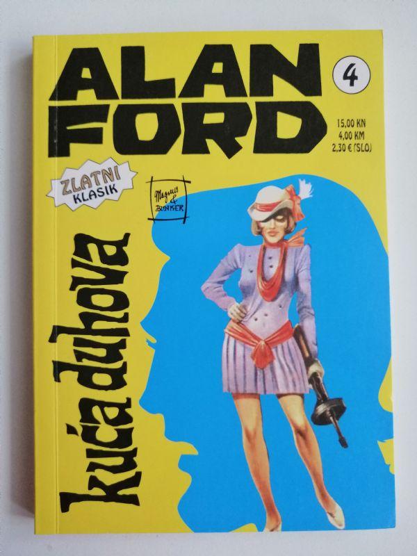 Alan Ford zlatni klasik 4 - Kuća duhova (Strip agent)