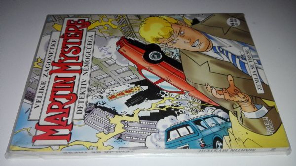 Martin Mystere 60 - Zemlja se trese (Strip agent)