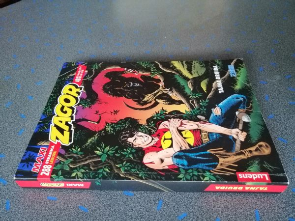 Zagor maxi 32 - Tajna druida (Ludens)