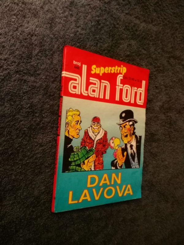 ALAN FORD Superstrip br. 446 Dan lavova (4+/5-)