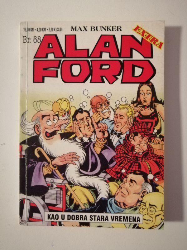 Alan Ford extra 68 - Kao u dobra stara vremena (Strip agent)