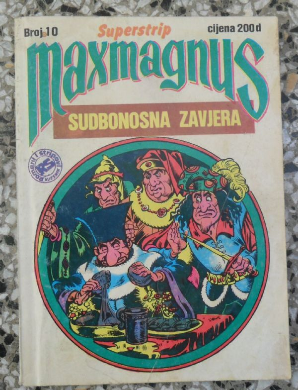 Maxmagnus Superstrip br. 10 - SUDBONOSNA ZAVJERA
