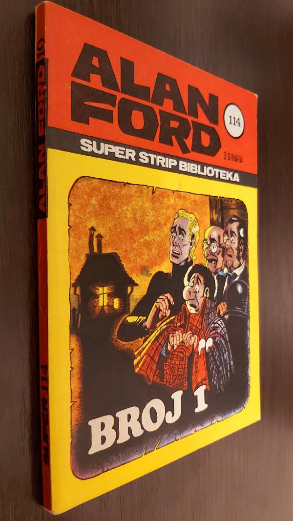 ALAN FORD SUPER STRIP BR.10 BROJ 1  (ODLICAN)