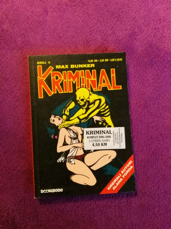 Kriminal Bookglobe br. 5