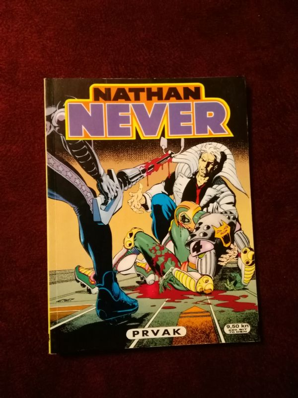 Nathan Never SD - br.14 - Prvak (5-/5)