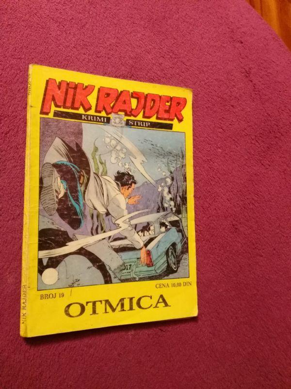Nick Raider ZS br. 19 Otmica
