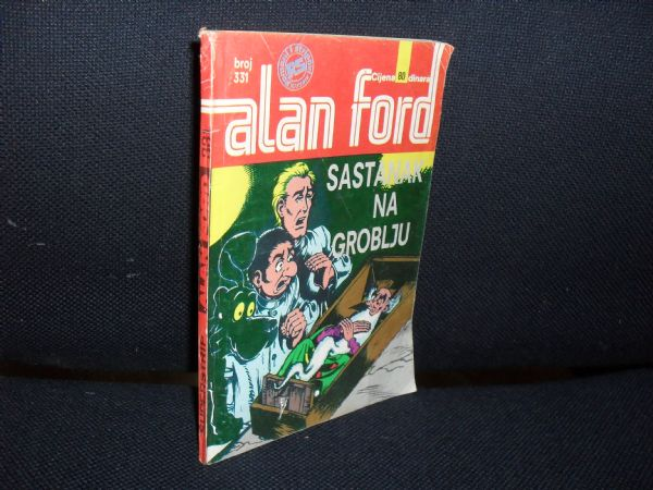 ALAN FORD SS br. 331 - SASTANAK NA GROBLJU (+4)