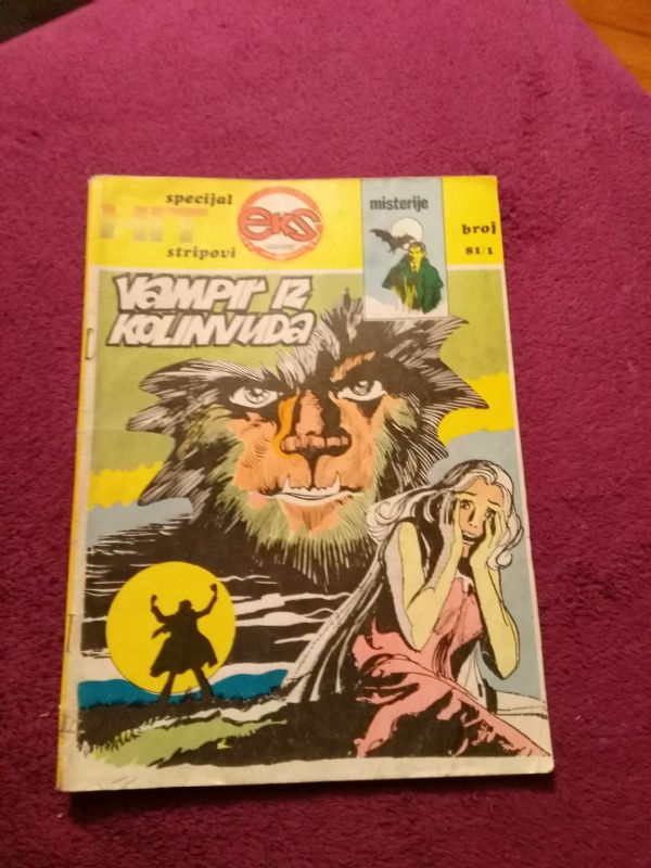HIT specijal stripovi, EKS ALMANAH br. 81/1