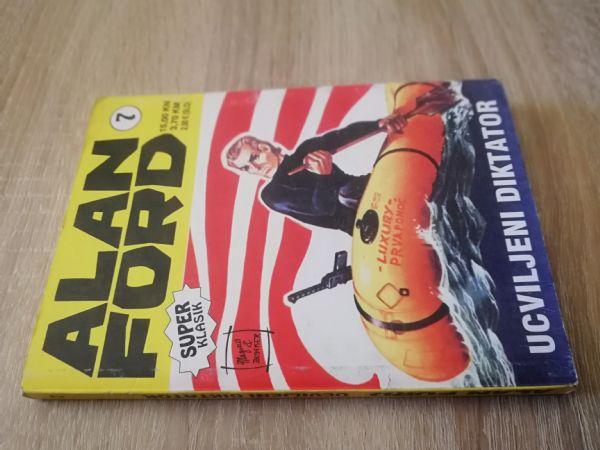 Alan Ford super klasik 7 - Ucviljeni diktator (Strip agent)
