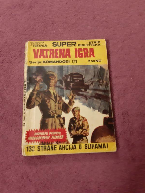 Superstrip biblioteka br. 21 - Komandosi (07) - Maddock - Vatrena Igra