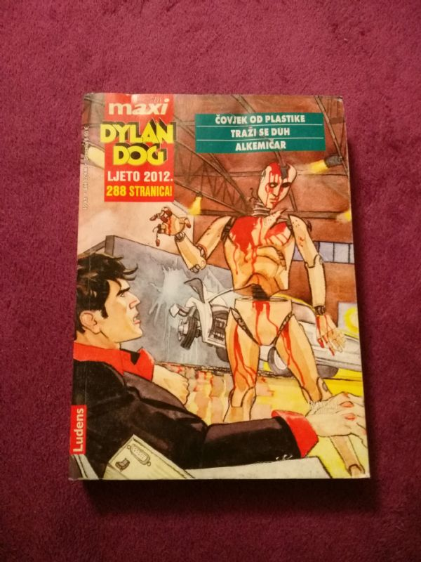 Dylan Dog Ludens Maxi br. 7