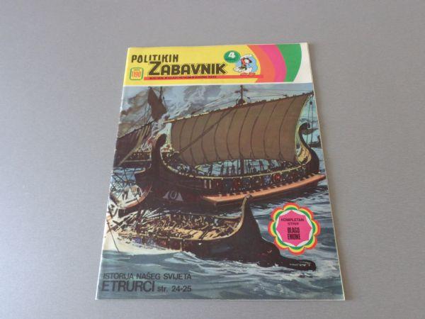 POLITIKIN ZABAVNIK Br 1190  1974 GOD.  (  -5  )