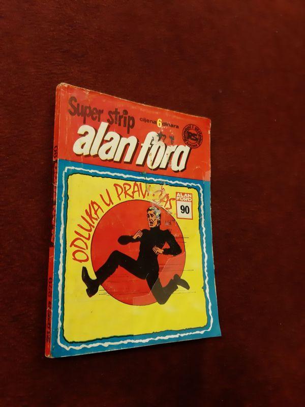 Alan Ford Superstrip br. 90 - Odluka u pravi čas