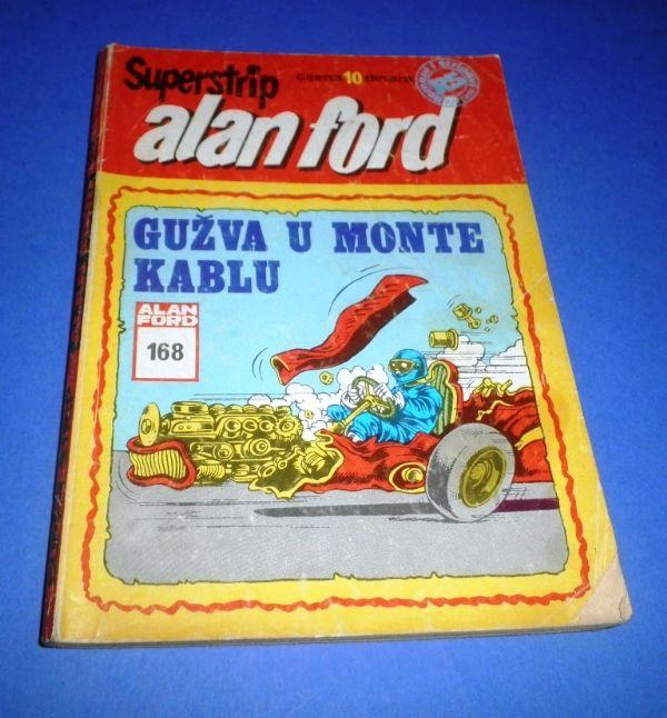 Alan Ford SSB 168: Gužva u Monte Kablu