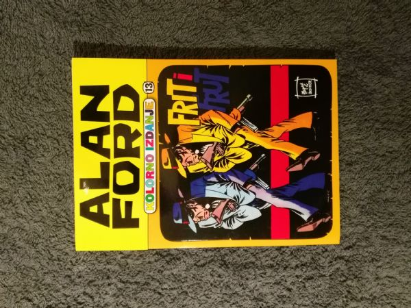 Alan Ford Kolorno izdanje Color media - br. 13 Frit i Frut (5/5-)