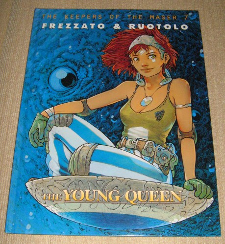 Keepers of the maser 7 - The young queen (HC)