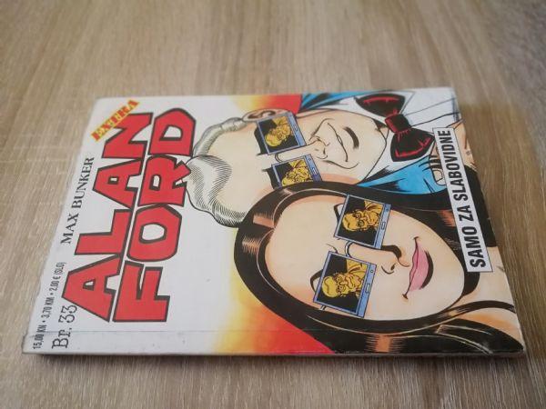Alan Ford extra 33 -  Samo za slabovidne (Strip agent)