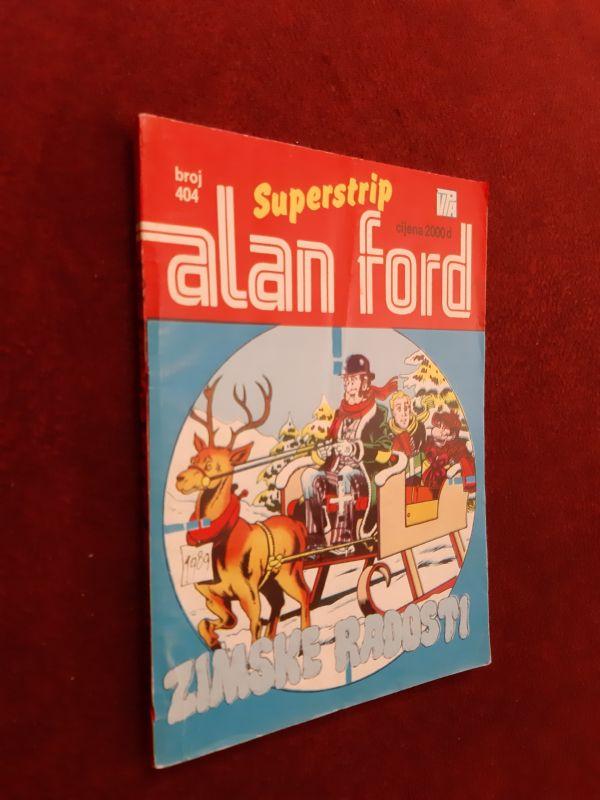 ALAN FORD Superstrip br. 404 - Zimske radosti