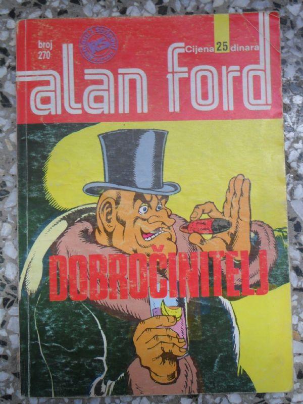 Alan Ford SS 270 - Dobročinitelj