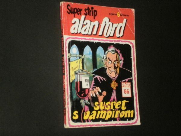 ALAN FORD 66 : SUSRET S VAMPIROM  (SUPER STRIP 255)