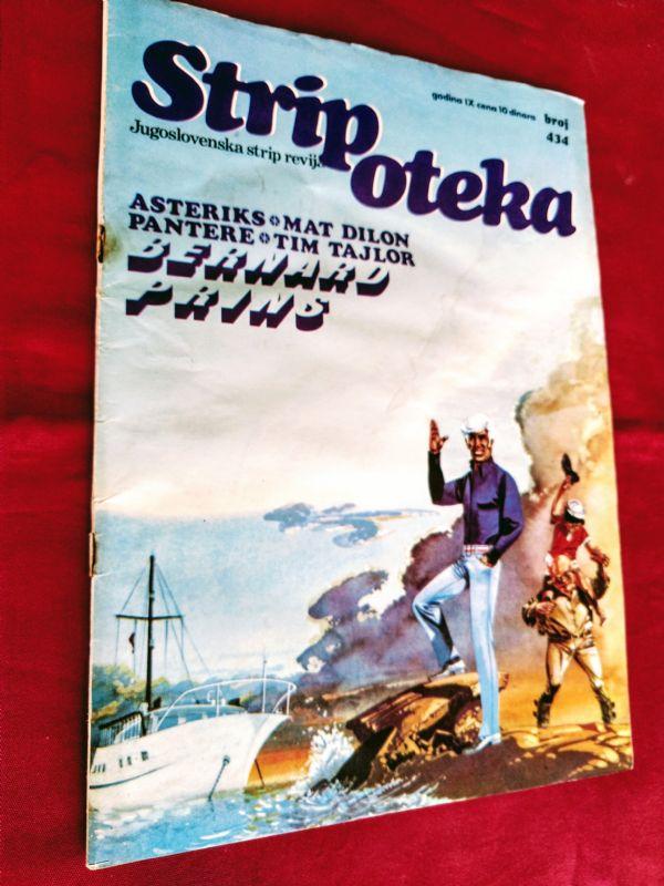 STRIPOTEKA br 434  • BERNARD PRINS •  Pirati Lokange  (-4)