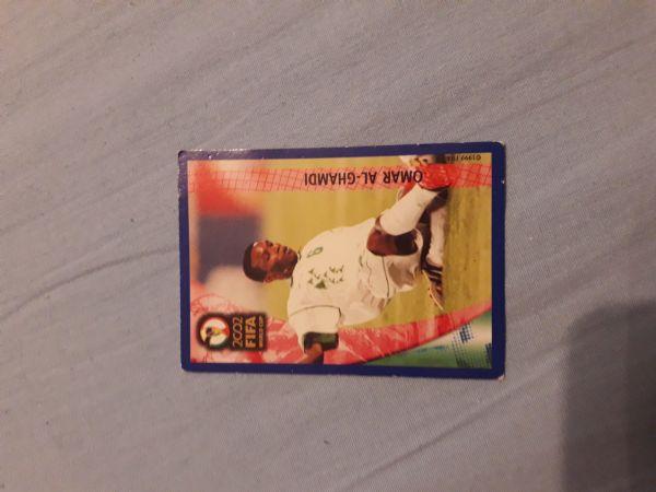 Kartica Panini Fifa 2002 - Omar Al-Ghamdi