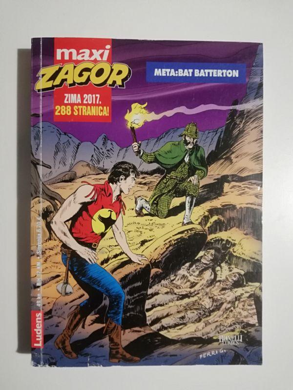 Zagor maxi 27 - Meta : Bat Batterton (Ludens)