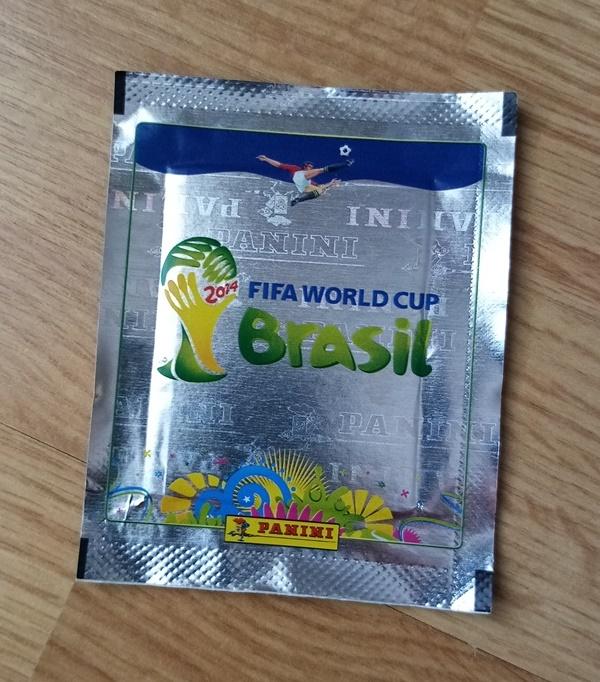 Panini - Brasil 2014 (srebrna)