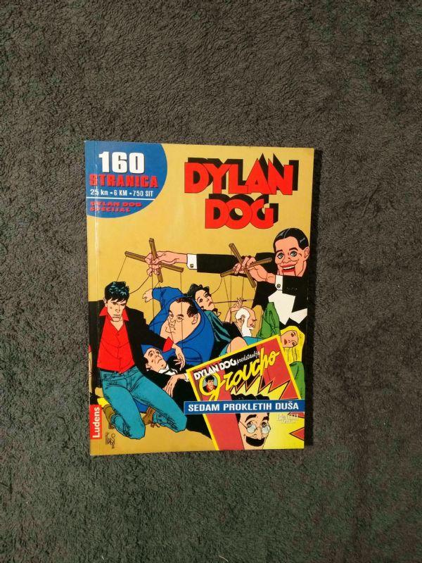 Dylan Dog Ludens Specijal br. 4 - Sedam prokletih duša (5/5-)