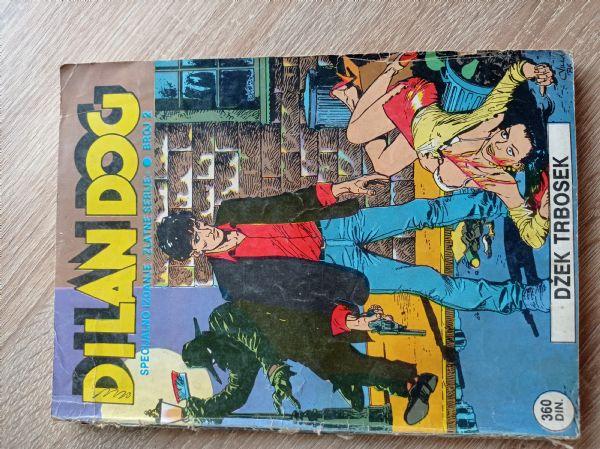Dilan Dog Specijalno izdanje zlatne serije broj 2 Džek Trbosek