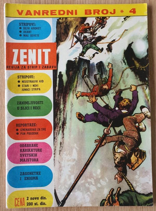 Zenit - Vanredni broj 4 (Dečje novine)