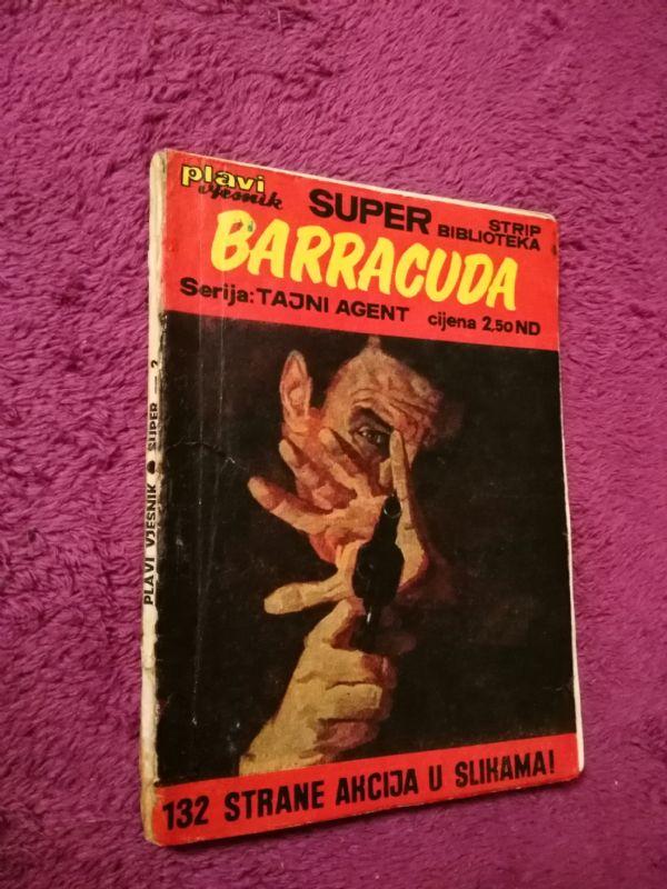 Super Strip Biblioteka br. 2 TAJNI AGENT (1) Baraccuda