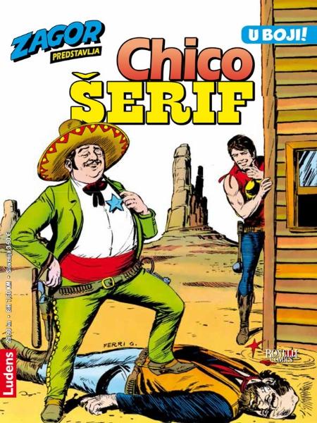 CHICO KOLOR br. 4. Chico šerif