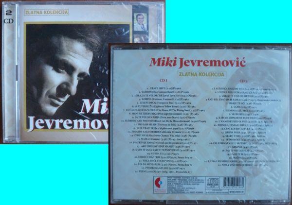 2 CD: Miki Jevremović Zlatna kolekcija