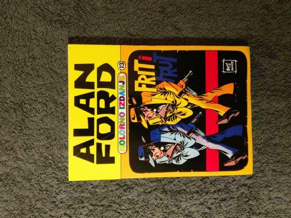 Alan Ford Kolorno izdanje Color media - br. 13 Frit i Frut (5-)