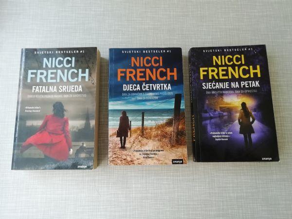 NICCI FRENCH #lot - 3 knjige