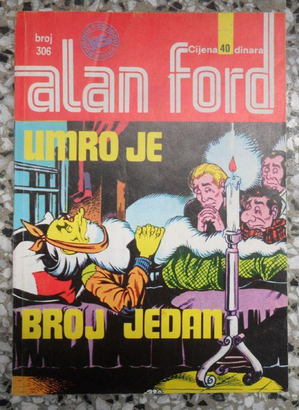 Alan Ford SS 306 Umro je broj jedan