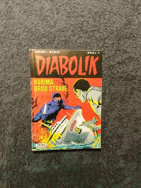 Diabolik br. 1 SD Karima, brod strave (5-)