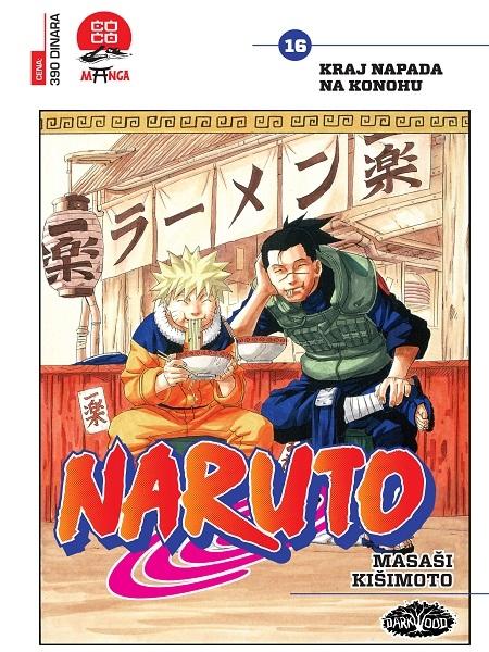 NARUTO  (Manga) br. 16