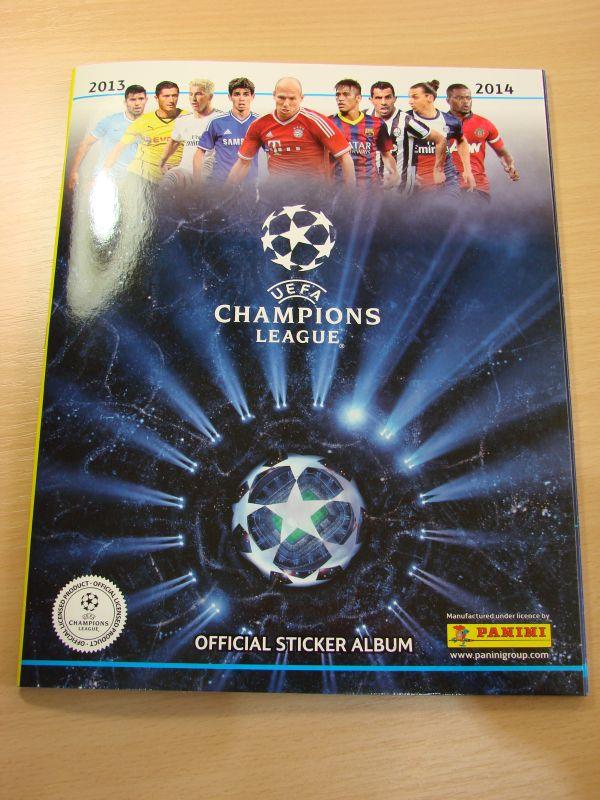 Album UEFA Champions League 2013-14 + 6 sličica