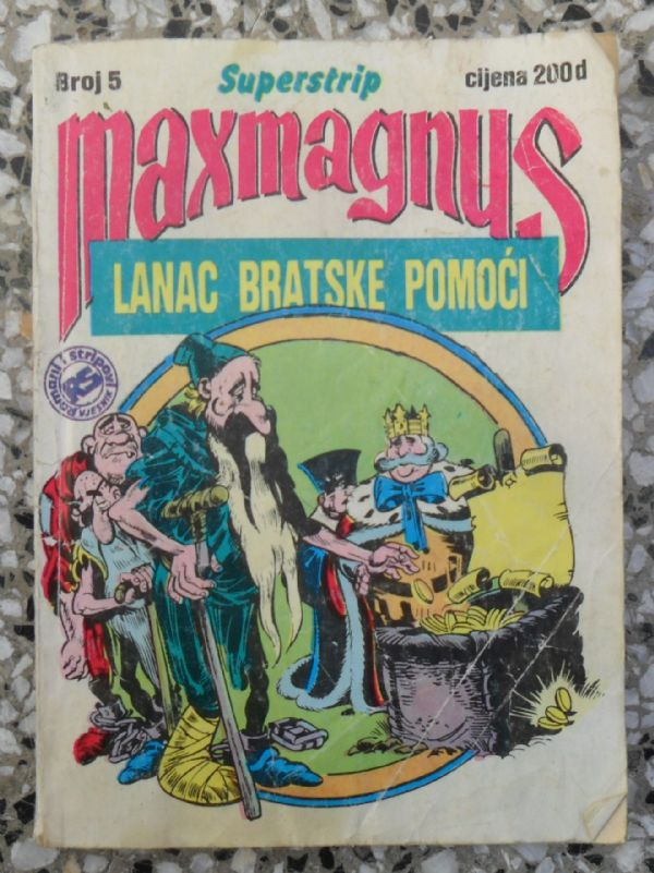 Maxmagnus Superstrip br. 5 - LANAC BRATSKE POMOĆI